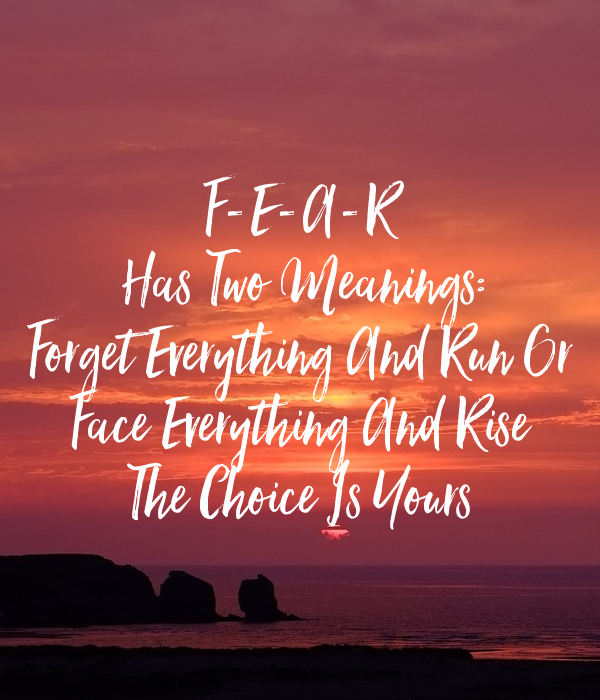 fearmeanings